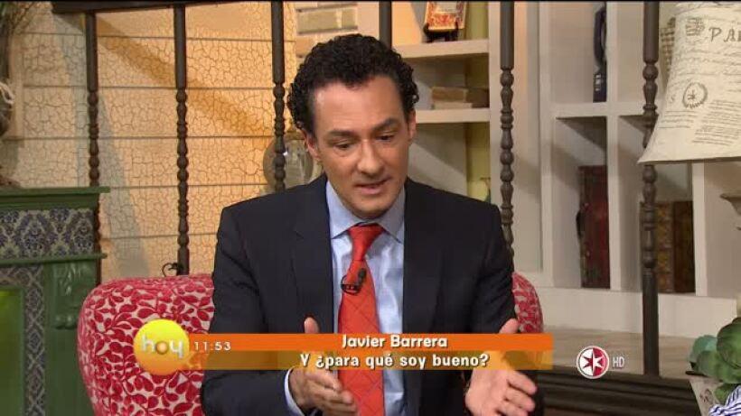 Javier Barrera ¿Para qué somos buenos?