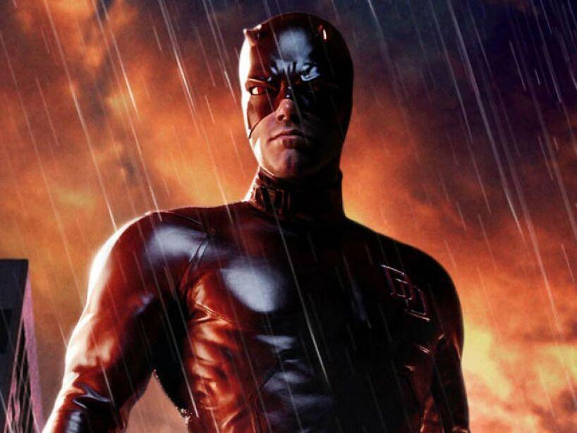 Daredevil (2003): Ben Affleck da vida a Matt Murdock/Daredevil, un superhéroe ciego.
