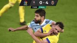 ¡Zarandeados! Villarreal golea al Celta de Araujo a domicilio