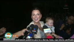 ¡Marjorie de Sousa revela quién mantiene a su hijo!