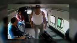 Mira los mejores intros del video del asalto en la combi