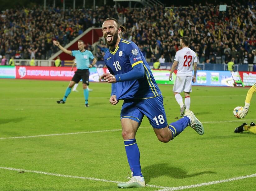 Kosovo Montenegro Soccer