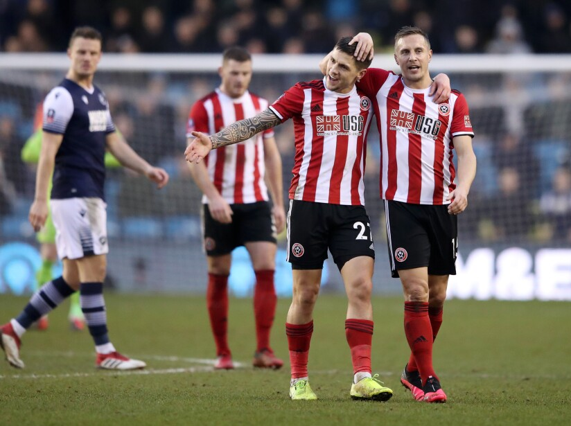 Millwall FC v Sheffield United - FA Cup Fourth Round