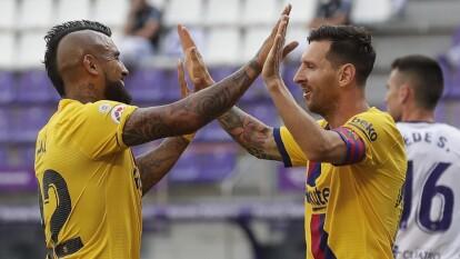 Barcelona derrotó por la mínima a Valladolid | Los de Setién consiguieron una importante victoria que les permite mantener la esperanza en La Liga.