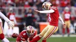 ¡Carta fuerte de los 49ers! Robbie Gould disfruta de los Playoffs
