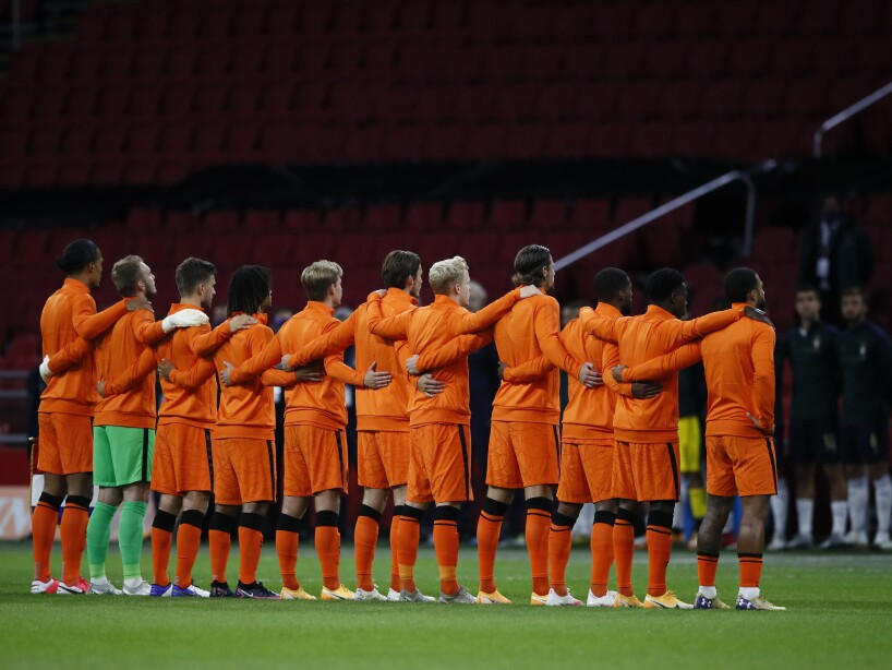 Netherlands Italy Nations League Soccer