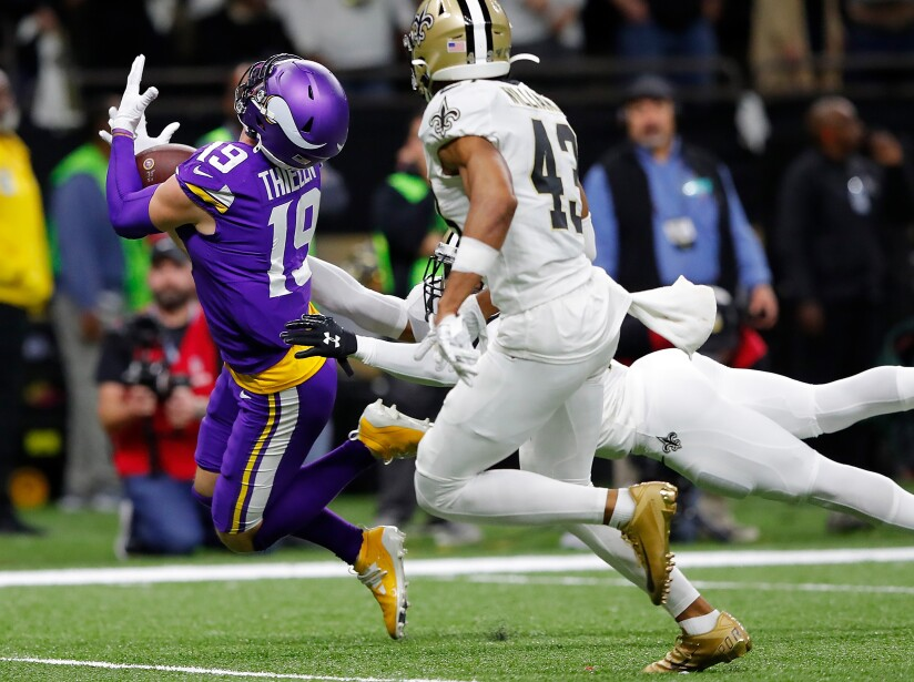 Wild Card Round - Minnesota Vikings v New Orleans Saints
