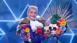 Fue un reto para Rocío Banquells portar a Catrina en ¿Quién es la Máscara?