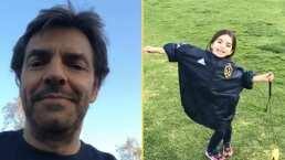 Con tan solo 5 años, Aitana compone canción en inglés y Eugenio Derbez lo presume en Instagram