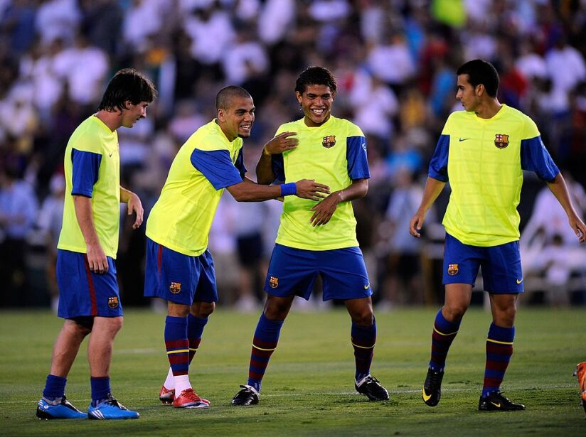 FC Barcelona v Los Angeles Galaxy