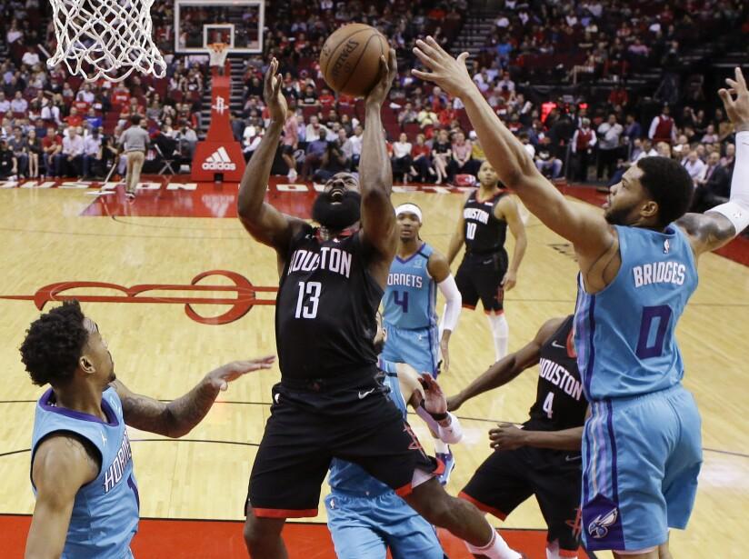 Hornets Rockets Basketball