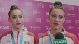 El conjunto mexicano de gimnasia rítmica celebra su segundo oro