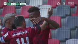 ¡Se saca la espinita! Estrada marca el gol del 3-1 para el Toluca