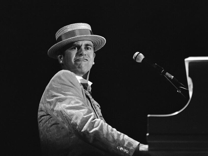 Elton John 1984