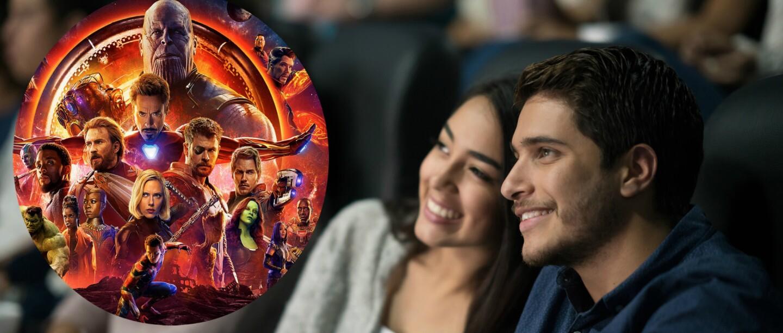 Reglas de un chico para ver con su novia 'Avengers: Infinity War'