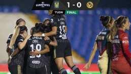 Tigres Femenil supera con algunos problemas 1-0 al América en la J10