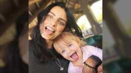 A punto de cumplir 2 años, Aislinn Derbez muestra la actividad favorita de su hija Kailani