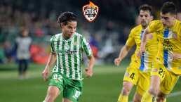 Diego Lainez vio frenada su salida a la MLS por el Betis