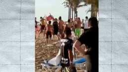Aficionados de Chivas protagonizan pelea en Mazatlán