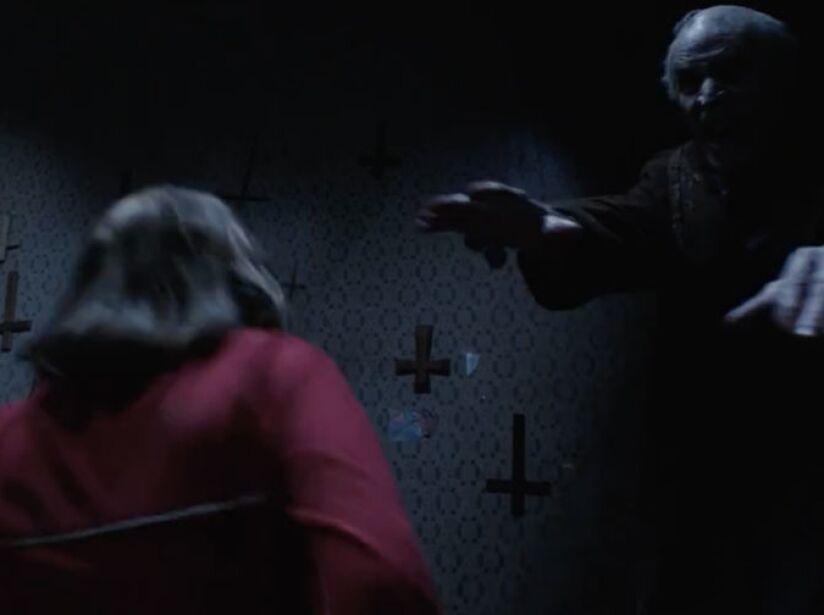 16. Bill Wilkins: Basada en una historia real, El Conjuro 2 (2016) nos aterró con este necio fantasma que protegía su casa.