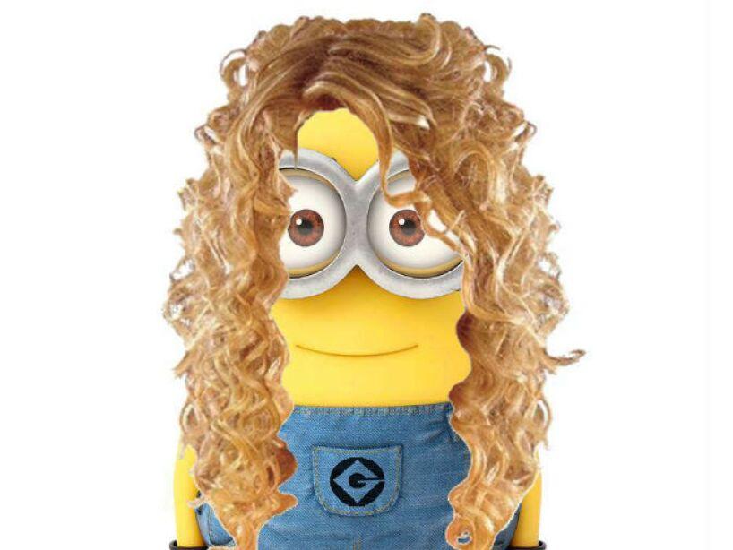 Shakira: La rizada cabellera de la colombiana es inconfundible, aunque las caderas se las debemos.