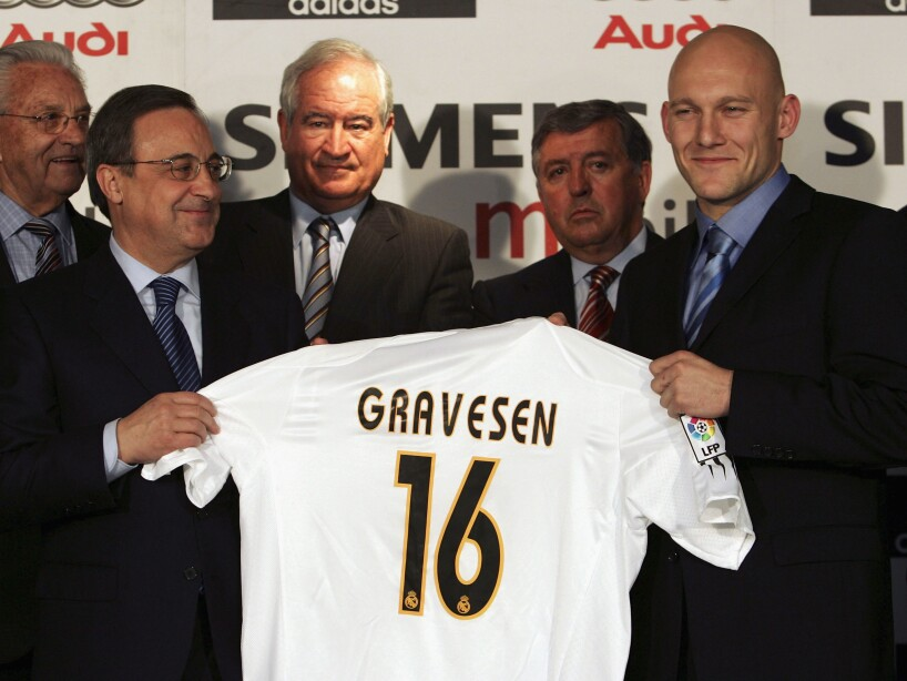 Thomas Gravesen Signs For Real Madrid