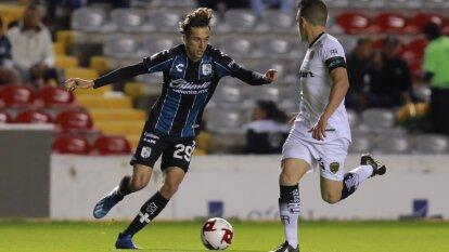 Los marcadores y las mejores imágenes de los Octavos de Final. Querétaro 3-2 Juárez | CF Mérida 1-1 Pachuca | San Luis 0-1 Tijuana | Guadalajara 1-2 Dorados