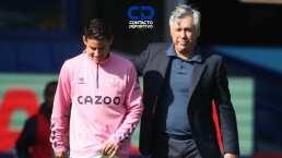 ¡Que ahora sí! Ancelotti cuenta con James ante el Southampton