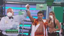 Resumen | Carlos Arriaga venció a Ismael Aviles en pelea de debutantes