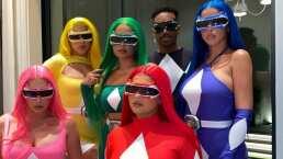 'Go, go, Power Rangers': Kylie Jenner roba suspiros con su ajustado disfraz rojo para Halloween