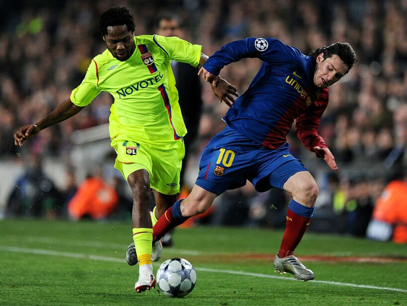 Barcelona v Lyon - UEFA Champions League