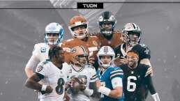 Los quarterbacks del futuro contra los miembros del Salón de la Fama