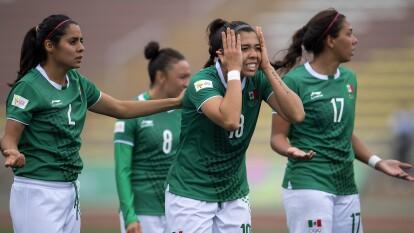 Angélica Palacios abrió el marcador para México.