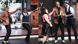 Faisy y Jaime Camil sorprenden con duelo de baile en tacones