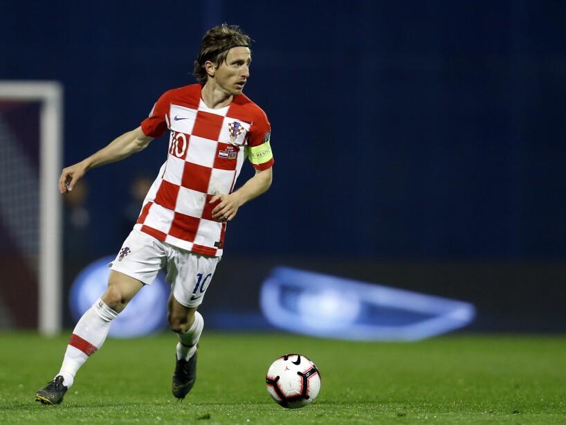 Croatia Azerbaijan Euro 2020 Soccer