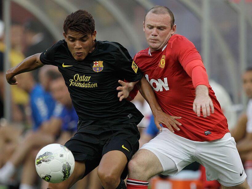 FC Barcelona v Manchester United