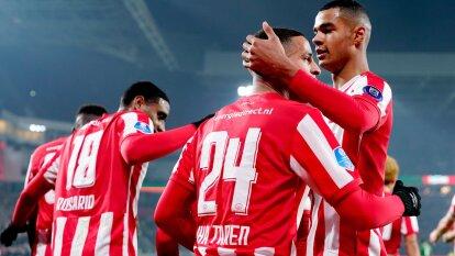Con goles de Hemdrix, Itaharen, Vruma y Gakpo, el PSV se lleva fácilmente el partido ante el PEC Zwolle en casa. El 'Guti' no fue convocado por lesión en el tobillo.