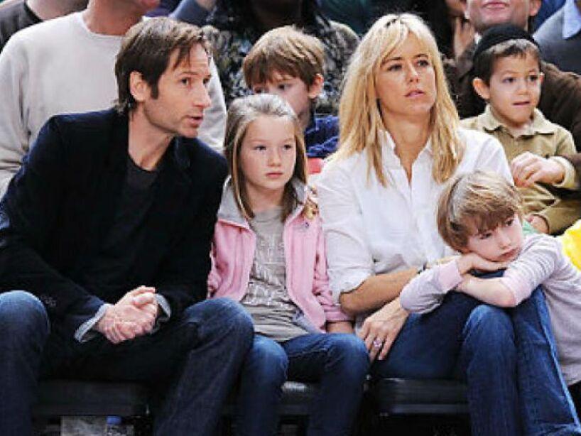 11. David Duchovny y Téa Leoni: Ambos llamaron a su hijo Kyd, que es como decir niño en español.