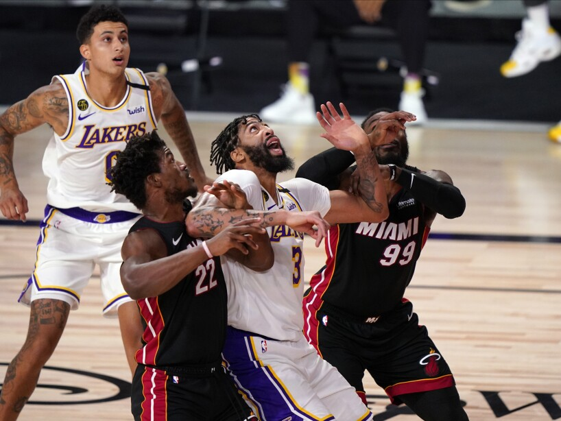 NBA Finals Lakers Heat Basketball