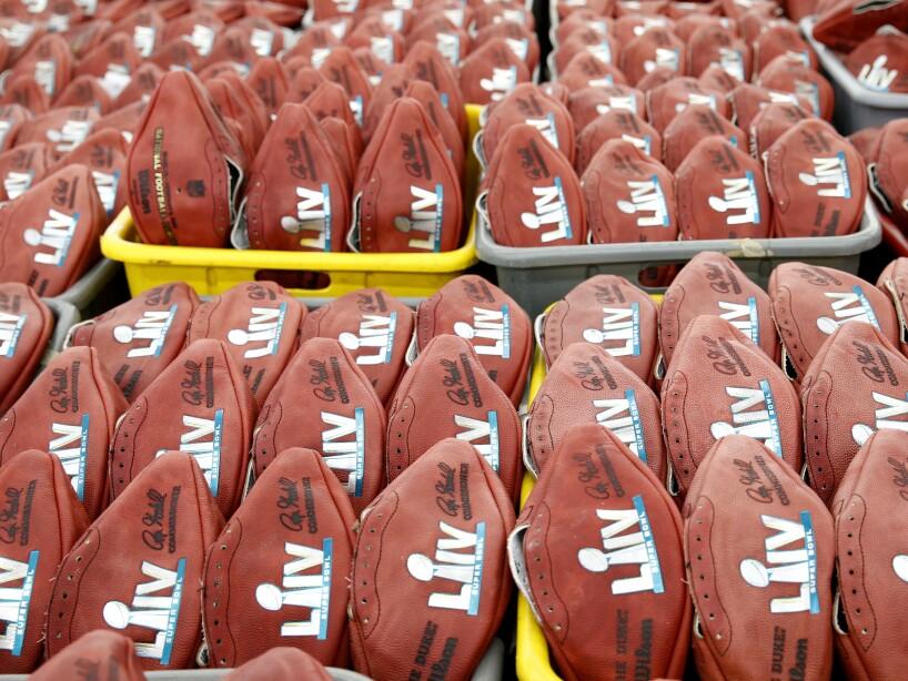 Super Bowl Footballs