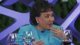 Carmelita Salinas revela que su primera película fue a lado de Silvia Pinal pero ¡la cortaron!