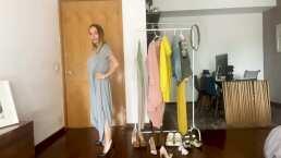 """Erika Zaba modela con orgullo la ropa que consiguió en el tianguis: """"No van a creer que ahí lo compré"""""""