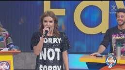 Andrea Escalona canta 'Recuérdame', pero se arrepiente y nos regala un momento de alegría
