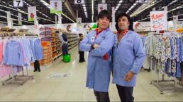 Albertano y el Vítor ponen de cabeza el supermercado