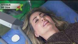 Andrea Legarreta retoca sus cejas en vivo con este procedimiento estético en 'Hoy'