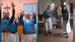 Estas monjas tiene una cuenta de TikTok divertidísima en la que siguen retos virales