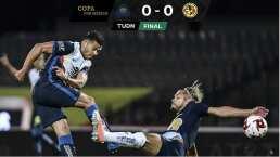 Pumas 0-0 América | Clásico capitalino aburre sin disparos a puerta