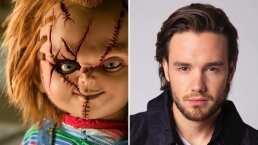 Liam Payne presume su aterrador maquillaje de Chucky y sus fans aún así quieren abrazarlo