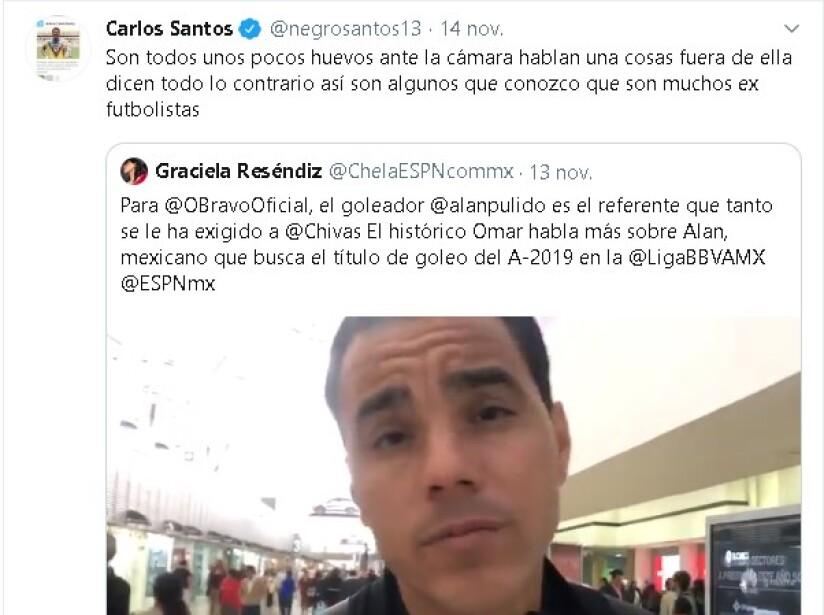 El 'Negro' siempre da de qué hablar con sus declaraciones picantes sobre el futbolistas y periodistas… incluso boxeadores.