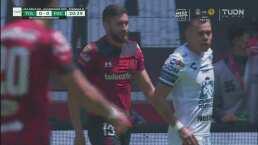 ¡Se salva Pachuca! El desvío defensivo le quita el gol a Rigonato
